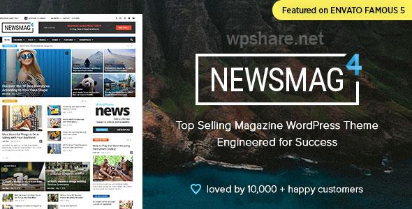 Newsmag – Newspaper & Magazine WordPress Theme v4.9.6