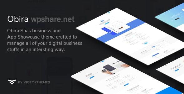 Obira – SaaS Business & App Showcase WordPress Theme v1.9.4