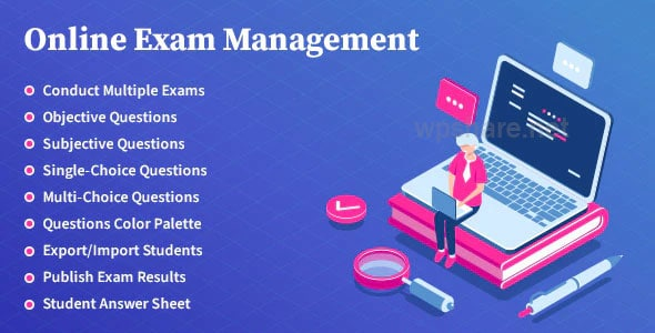 Online Exam Management – Education & Results Management v2.3