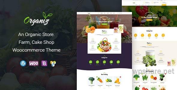 Organiz v1.9 – An Organic Store WooCommerce Theme
