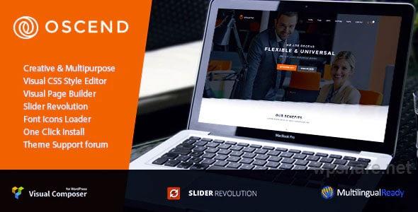 Oscend pluse v2.3.5 – WordPress Theme