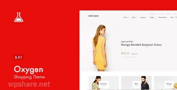 Oxygen – WooCommerce WordPress Theme v5.7.1
