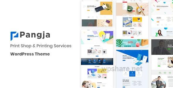 Pangja – Print Shop WordPress theme v1.2.9