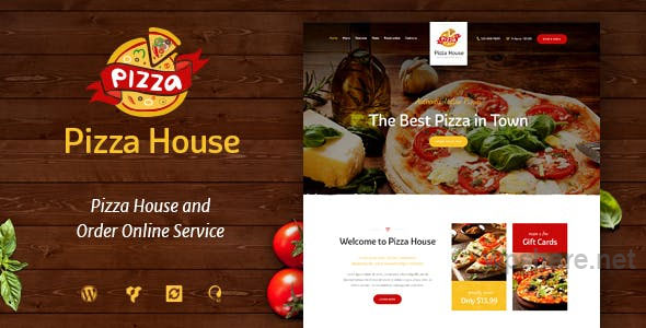 Pizza House v1.3 – Restaurant / Cafe / Bistro WordPress Theme