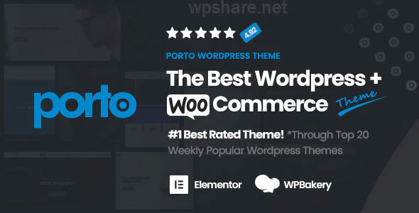 Porto | Multipurpose & WooCommerce Theme v6.0.1