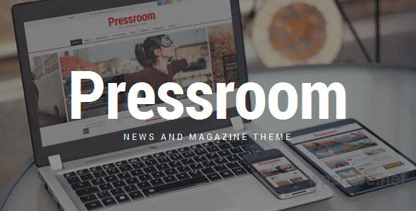 Pressroom – News and Magazine WordPress Theme – v5.2