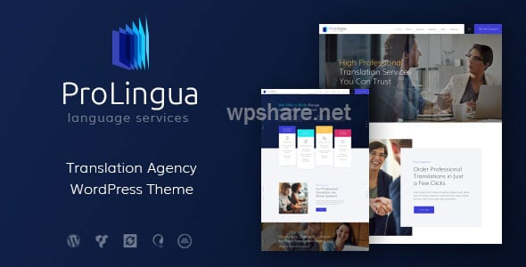 ProLingua | Translation Bureau & Interpreting Services WordPress Theme v1.1.1