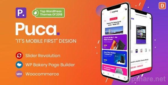 Puca 2.2.7 – Optimized Mobile WooCommerce Theme