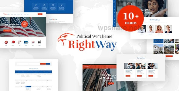 Right Way | Election Campaign and Political Candidate WordPress Theme v4.0