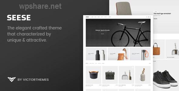 Seese – Responsive eCommerce Theme v2.9