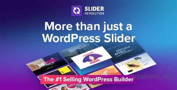 Slider Revolution Responsive WordPress Plugin v6.3.4