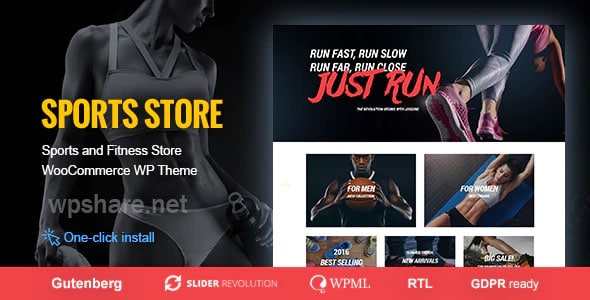 Sports Store- WooCommerce WordPress Theme v1.1.2