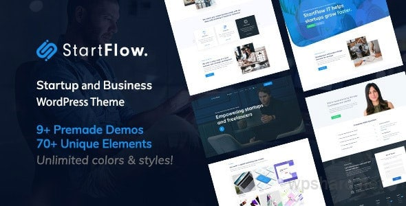 StartFlow 1.13 – Responsive Multipurpose WordPress Theme