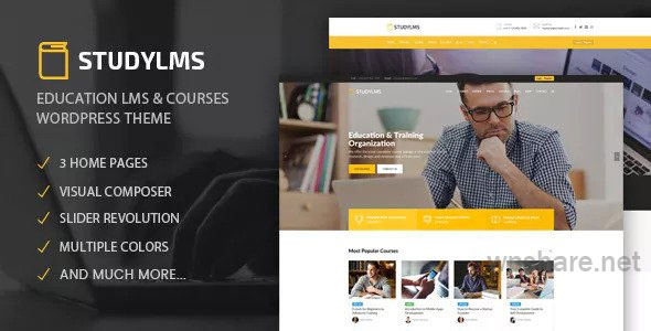 Studylms 1.20 – Education LMS & Courses WordPress Theme