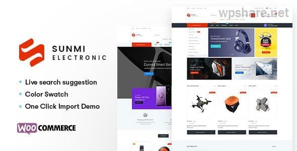 Sumi v1.2.8 – Electronics WordPress Theme for WooCommerce