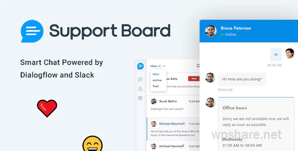 Chat – Support Board – WordPress Chat Plugin – v3.2.5