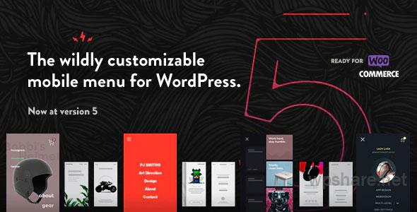 TapTap: A Super Customizable WordPress Mobile Menu – v5.4