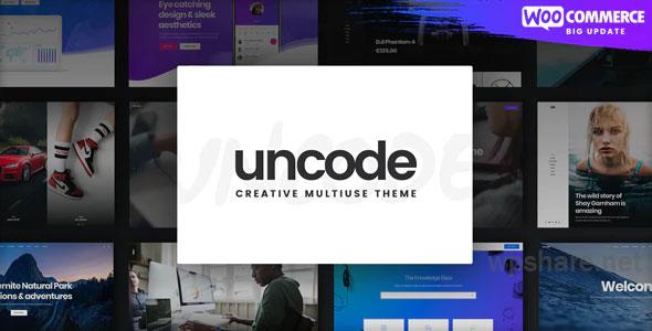 Uncode v2.3.3 – Creative Multiuse & WooCommerce WordPress Theme