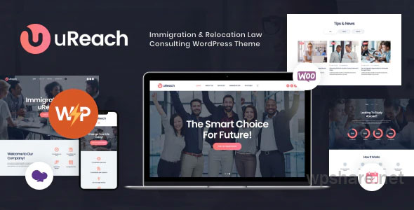 uReach | Immigration & Relocation Law Consulting WordPress Theme v1.1.3