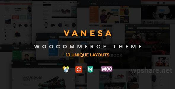 Vanesa v1.4.5 – Responsive WooCommerce Fashion Theme