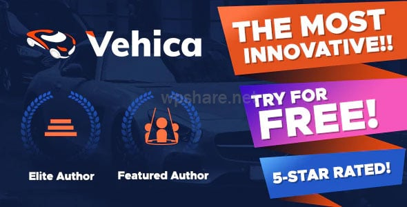 Vehica 1.0.52 – Car Dealer & Automotive Directory
