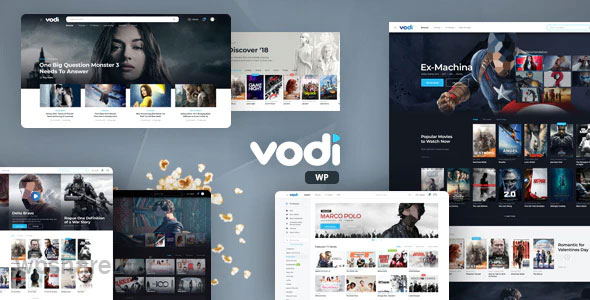 Vodi v1.2.4 – Video WordPress Theme for Movies & TV Shows