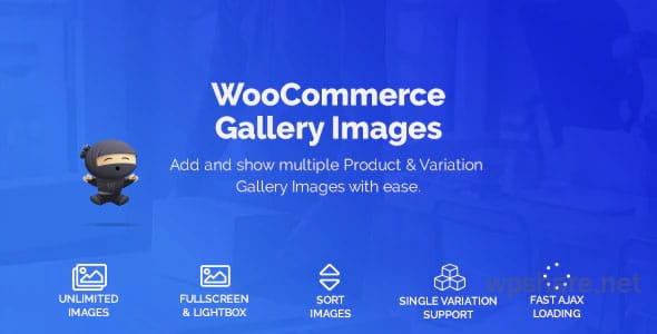 WooCommerce Product & Variation Gallery Images v1.1.2