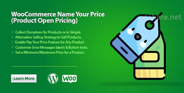 WooCommerce Name Your Price (Product Open Pricing) v3.3.1