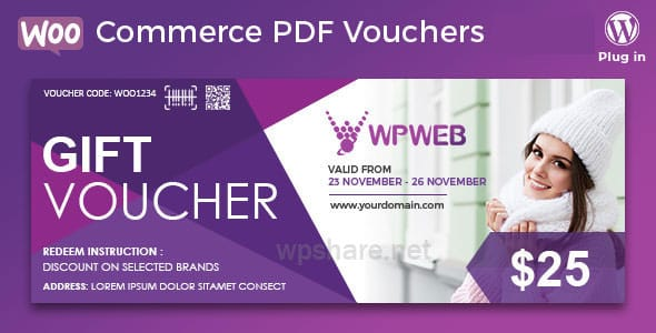 WooCommerce PDF Vouchers – WordPress Plugin v4.2.12