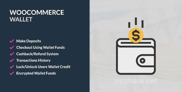 WooCommerce Wallet v2.9.3