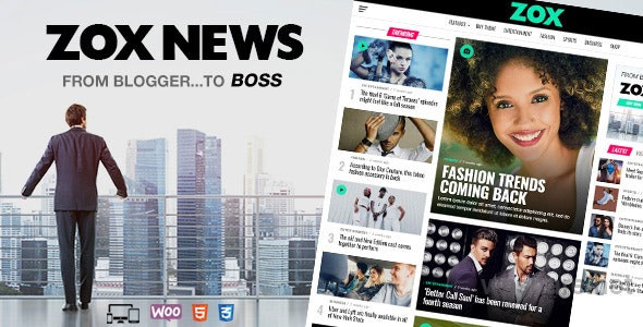 Zox News 3.9.0 – Professional WordPress News & Magazine Theme
