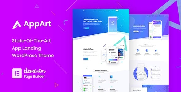 AppArt 3.0.1 – Creative WordPress Theme For Apps, Saas & Software
