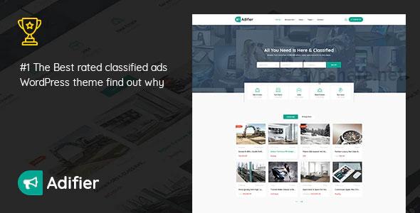 Adifier 3.8.9 – Classified Ads WordPress Theme