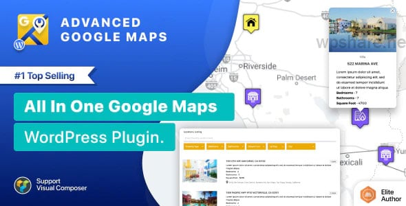 Advanced Google Maps Plugin for WordPress v5.2.8