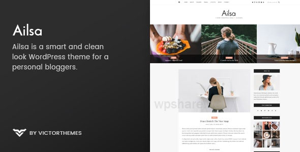 Ailsa v1.6 – Personal Blog WordPress Theme