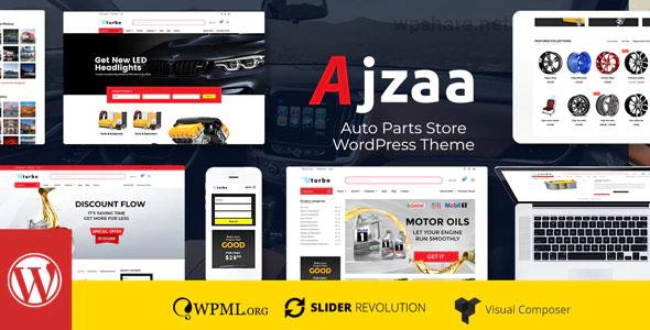 Ajzaa 3.1 – Auto Parts Store WordPress Theme