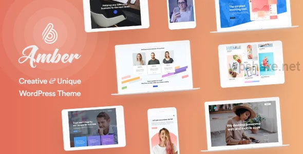 Amber Six 1.8 – Creative and Multipurpose WordPress Theme