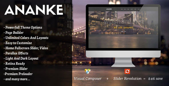 Ananke v3.8.6.1 – One Page Parallax WordPress Theme
