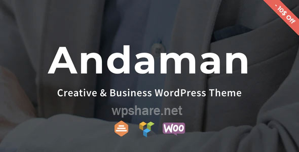 Andaman v1.1.3 – Creative & Business WordPress Theme