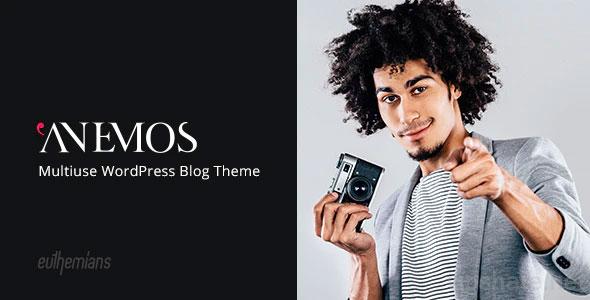 Anemos 2.3.1 – A Multiuse Blogging WordPress Theme