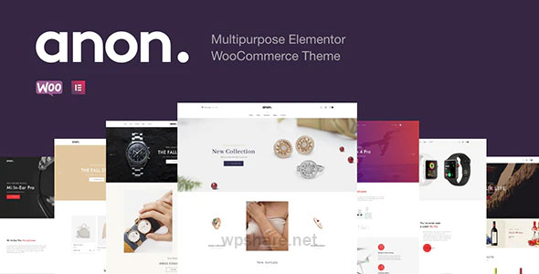 Anon 2.1.0 – Multipurpose Elementor WooCommerce Themes