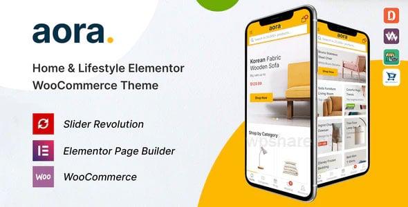 Aora – Home & Lifestyle Elementor WooCommerce Theme v1.0.5