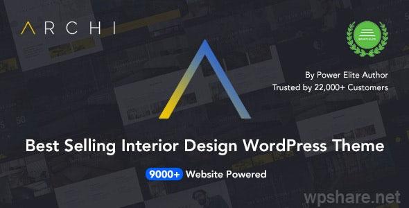 Archi 4.3.8 – Interior Design & Architecture WordPress Theme