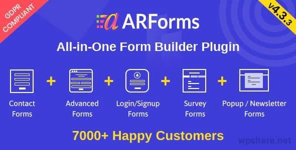 ARForms 5.5.1 – WordPress Form Builder Plugin