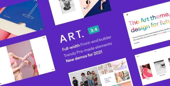Portfolio ART 3.4.5 – WordPress Theme