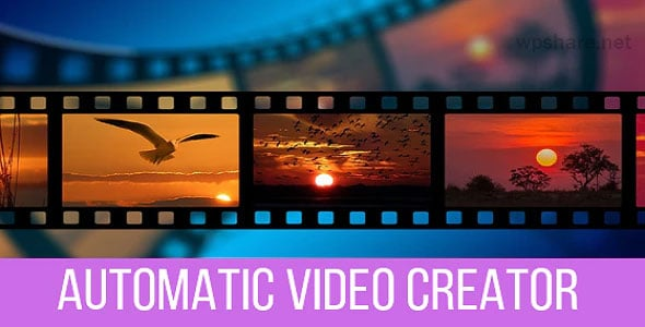 Automatic Video Creator 1.0.4 – Plugin for WordPress