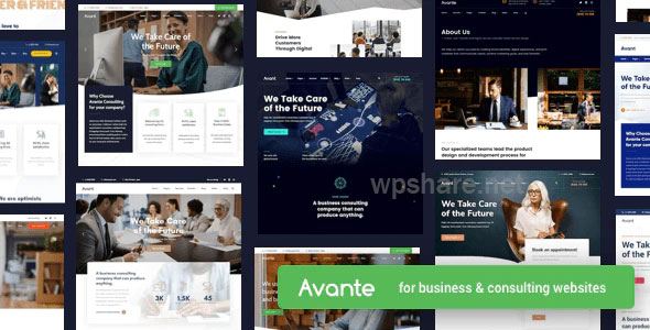 Avante v2.2 – Business Consulting WordPress Theme