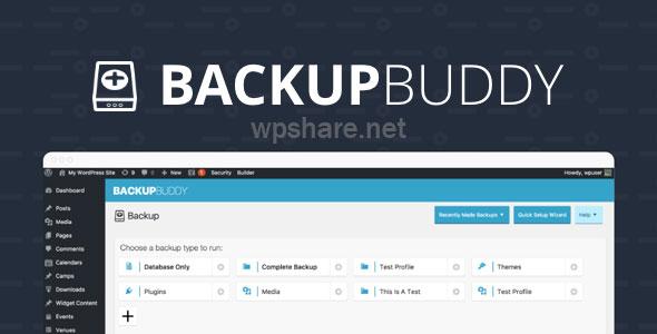 BackupBuddy v8.7.2.0 – Back up, restore and move WordPress