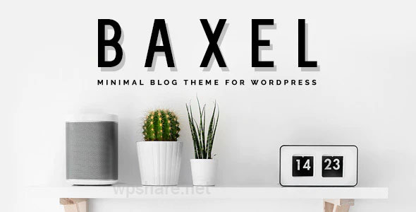 Baxel v5.0 – Minimal Blog Theme for WordPress