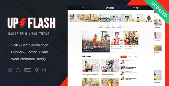 Bazinga 1.1.2 – Magazine & Viral Blog WordPress Theme